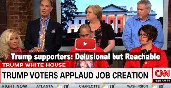 CNN interview with die-hard Trump supporters: Delusional but reachable (VIDEO)