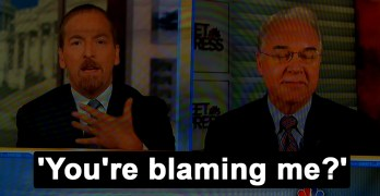 Chuck Todd slams Tom Price Youre blaming me for Trump tweets coverage (VIDEO)