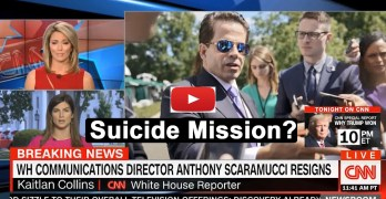 Scaramucci resigns as communication director. Was it a suicide mission (VIDEO)