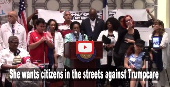 Texas Congresswoman calls for citizens to hit the streets against Trumpcare (VIDEO)