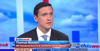 Thomas Bossert, a WH adviser & enabler defends president's violent CNN tweet (VIDEO)