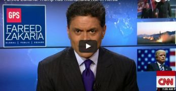 Fareed Zakaria slams Trump - guiding mantra not art of the deal but of the bluff (VIDEO)