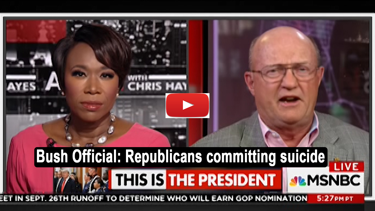 Former Bush Official: We may see this party having committed suicide (VIDEO)
