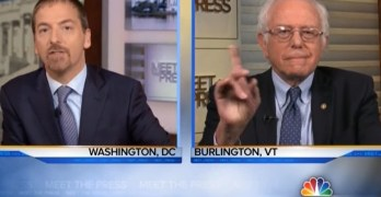 Bernie Sanders dismissed Chuck Todd snark & schools him on Medicare for all (VIDEO)