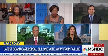 "Joy-Ann Reid checks Trumpcare spinner ""You can't disagree with math"" (VIDEO)"