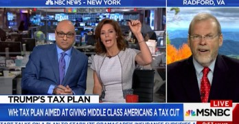 MSNBC's Ali Velshi & Stephanie Ruhle grills GOP Rep on president's tax cut lies (VIDEO)
