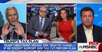 Progressive economist destroys conservative argument for corporate tax cut (VIDEO)