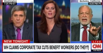 Robert Reich schools Trump economist lying about tax cuts & middle-class income (VIDEO)