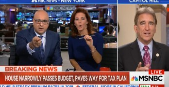 Velshi & Ruhle calls out another Republican for lying on tax cuts effect on markets (VIDEO)