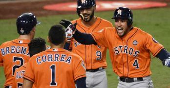 Houston Astros win world series