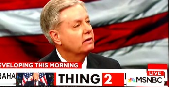 Lindsey Graham How to make America great again Tell Donald Trump to go to hell (VIDEO)