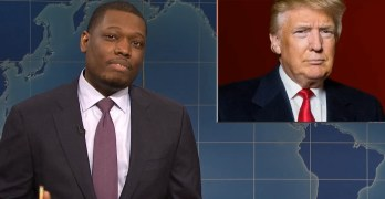 SNL's Michael Che tells Trump what we all want to tell him