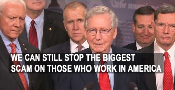 Senate passes the Republican tax cut scam that will pilfer the middle-class (VIDEO)