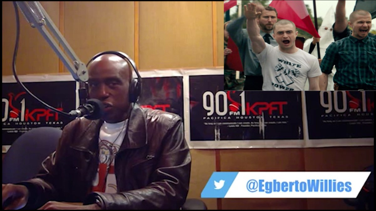 A white supremacist called my show and did not get what he expected (VIDEO)