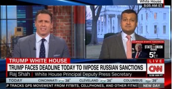 Chris Cuomo scorches Trump spokesman, What REAL Journalism looks like (VIDEO)