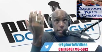 Right Wing anti-abortion man called my show and it went mostly well (VIDEO)