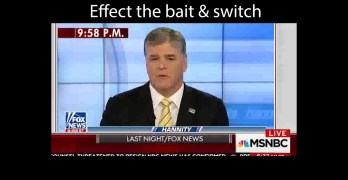 Sean Hannity snippet shows how to keep the Fox News viewer misinformed