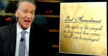 FUNNY - Bill Maher rewrote the 2nd Amendment ot one that makes a lot more sense (VIDEO)