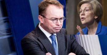 Mulvaney to Senate I don't have to talk to you. Elizabeth Warren destroys him (VIDEO)