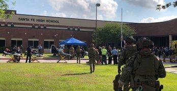 Santa Fe Texas School Mass Shooting Leaves at least 8 Dead