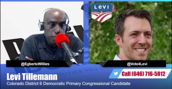 Levi Tillemann Interview - Progressive Steny Hoyer tried to bully out of Colorado Democratic Primary