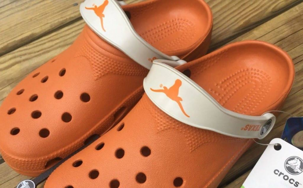 University of Texas Burnt Orange crocs