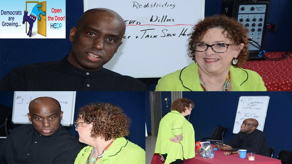Diane Mosier - Egberto Willies - Harris County Democratic Party