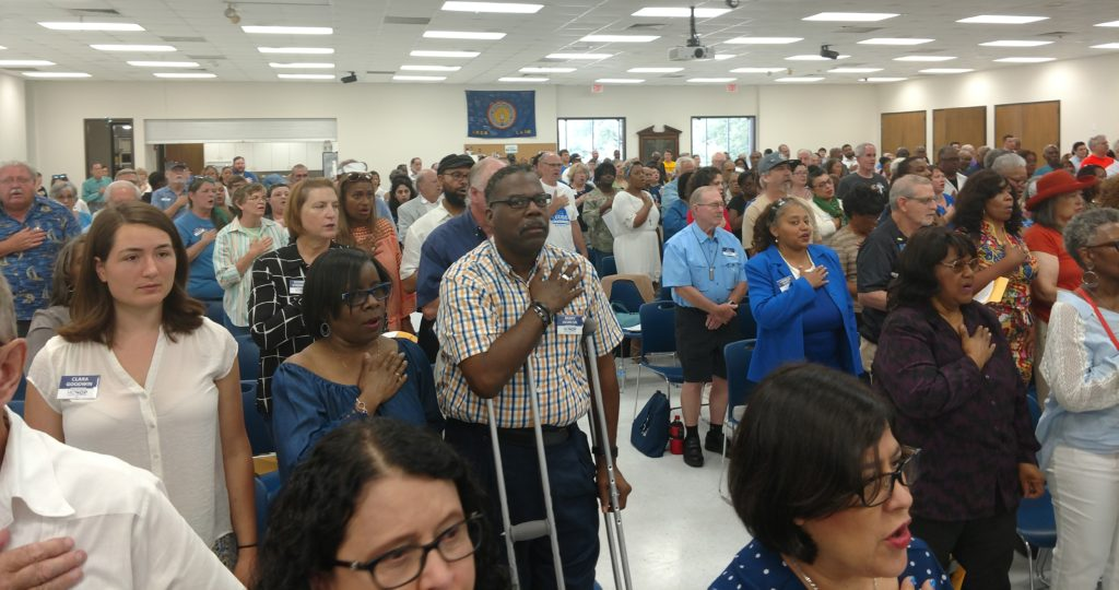 Harris County Democratic Party County Executive Committee Meeting very well attended
