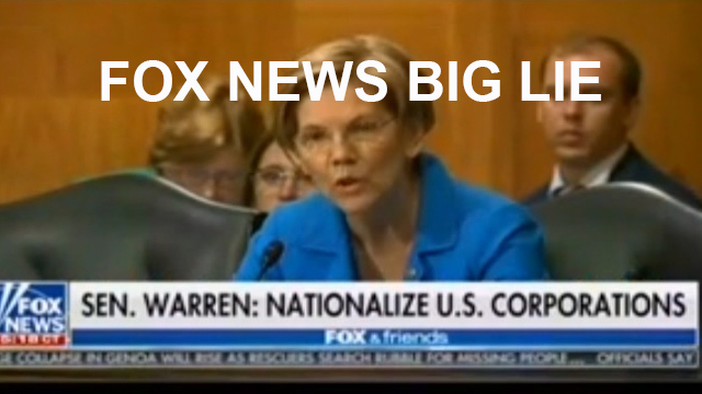Fox News lie about Sen. Warren's working-class bill reminiscent to Obamacare (VIDEO)