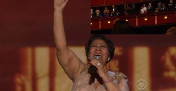 Aretha Franklin, you will be missed but you left us this (VIDEO)