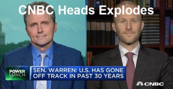 CNBC talking heads explode over Sen. Warren Accountable Capitalism Act (VIDEO)