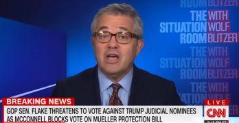 CNN rips Jeff Flake on empty promises