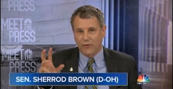 Sen. Sherrod Brown schools Chuck Todd on Democratic Leftward move narrative