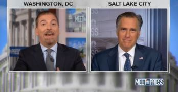 Chuck Todd's Romney interview Big fail that shows why Americans uninformed on healthcare & More