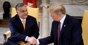Hungary white nationalist prime minister Viktor Orbán gets xenophobic with Trump