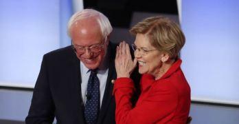 Elizabeth Warren & Bernie Sanders