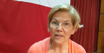 I interviewed Sen. Elizabeth Warren and asked how she will handle the Socialist framing