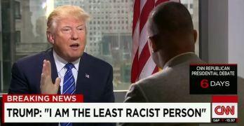 Racist Donald Trump
