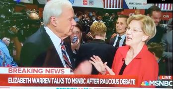 Senator Elizabeth Warren destroys an exasperated Chris Matthews GOTCHA question
