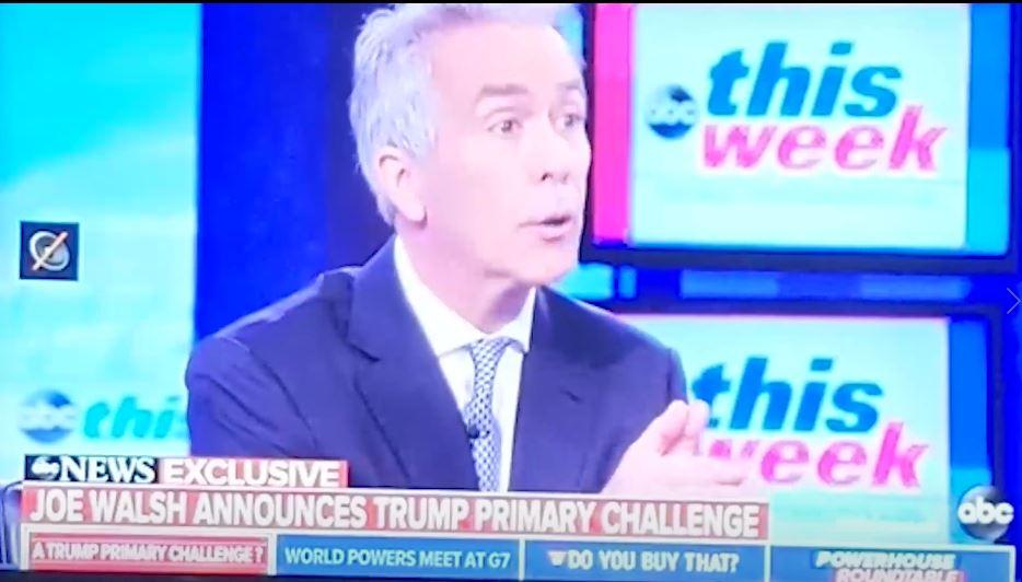 Republican Joe Walsh declares war on Trump as he enters the presidential race