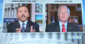 Chuck Todd Explodes on Ron Johnson