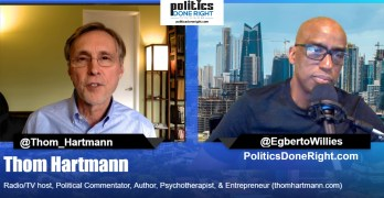 Thom Hartmann on Democratic Super Delegates Stealing 2020