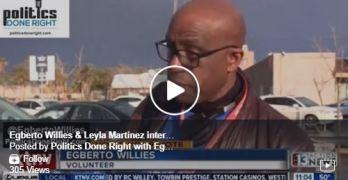 Leyla Martinez Egberto Willies Las Vegas Nevada Caucus