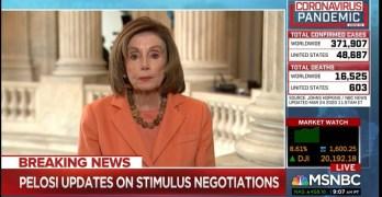 Steven Mnuchin to Nancy Pelosi: You're quoting the Pope I'll quote the
