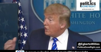 Trump gives tantamount to dangerous medical COVID-19 advice at presser
