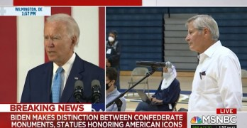 Joe Biden out the onus on elected leaders for statue removal