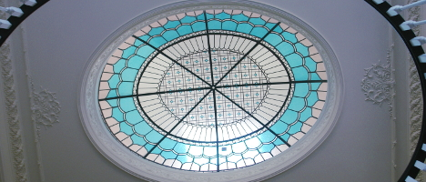 stained glass dome EGD Glass brokerage for sale