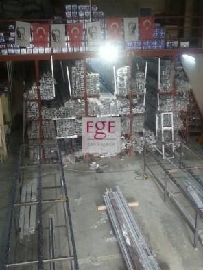sürgülü cam balkon üretim hattı