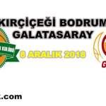 Kırçiçeği Bodrum – Galatasaray Basket Maçı | 8 Aralık 2018