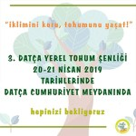 3.Datça Yerel Tohum Şenliği 2019